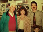 Leslie Nielsen and my family
