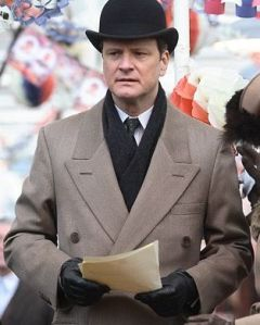 "Colin Firth wins for Best Dramatic Actor in ""The King's Speech"""